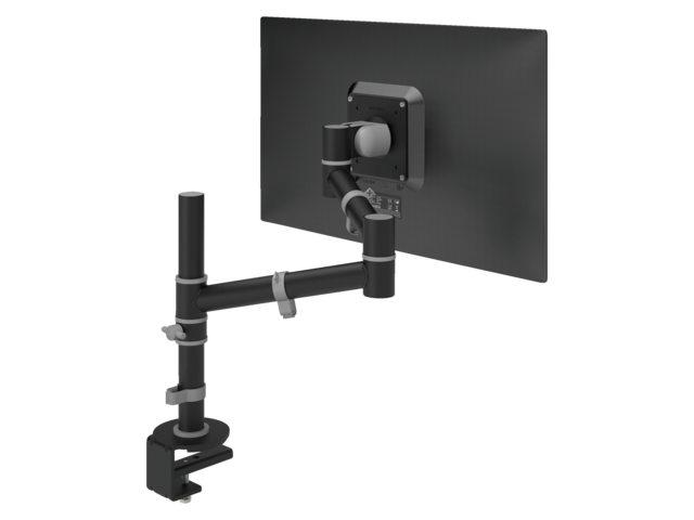 monitorarm Dataflex Viewgo 123 met bureauklem zwart