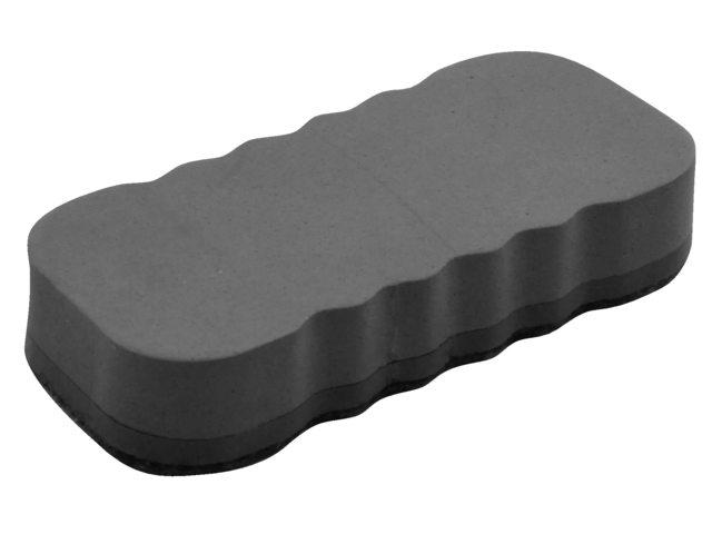 Whiteboardwisser magnetisch grijs
