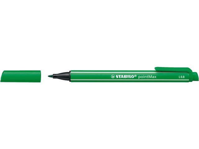 Viltstift Stabilo Point Max 488/36 groen