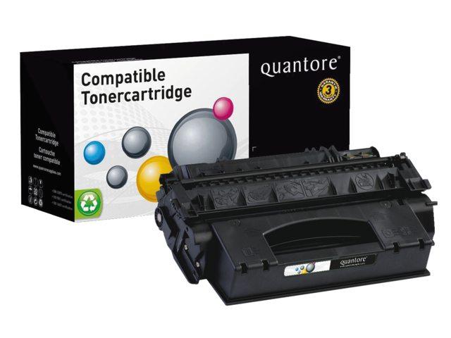 Tonercartridge Quantore HP Q7553X 53X zwart