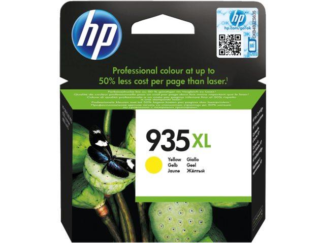 Inkcartridge HP C2P26AE 935XL geel HC