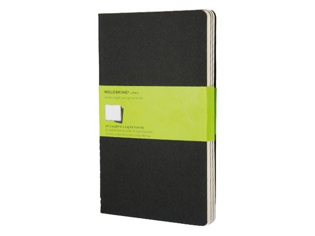 Schrift Moleskine blanco large 130x210mm zwart