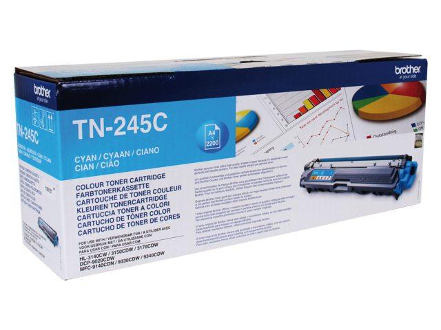 Tonercartridge Brother TN-245C blauw