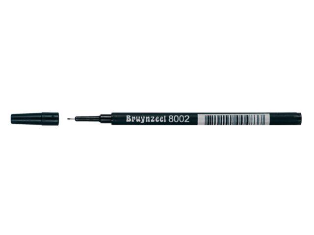 Finelinervulling Bruynzeel spits 8002 zwart 0.4mm