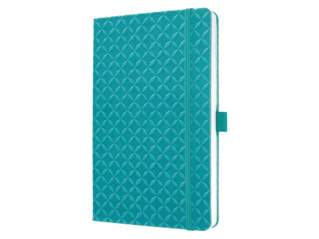 Notitieboek Sigel Jolie Flair A5 lijn aqua