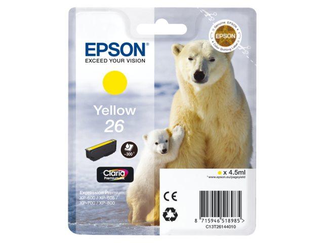 Inkcartridge Epson T2614 geel