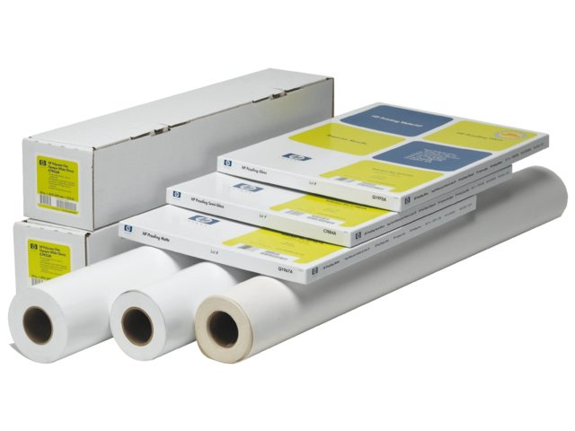 Inkjetpapier HP C6029C 610mmx30,5m 130gr heavyweight coated