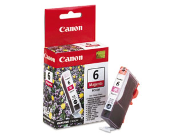 Inkcartridge Canon BCI-6 rood