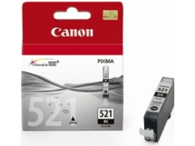 Inkcartridge Canon CLI-521zwart
