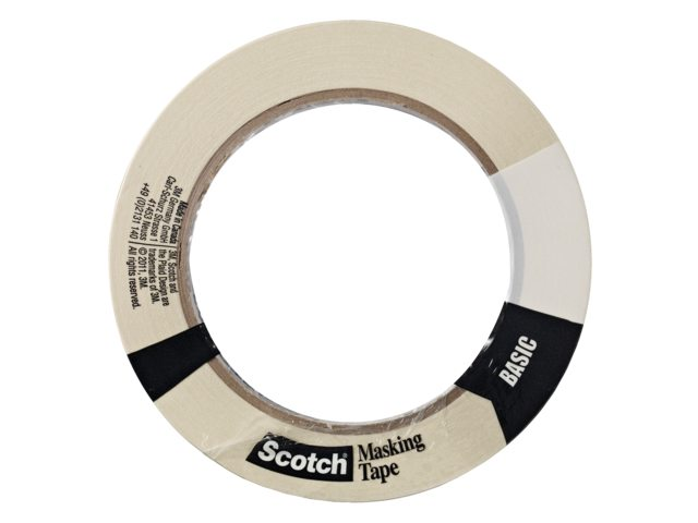 Afplaktape Scotch 18mmx50m Basic