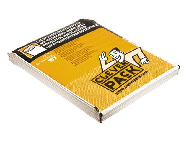 Envelop CleverPack luchtkussen nr20 370x480mm wit 10stuks