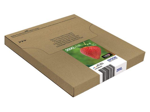 Inkcartridge Epson 29XL T2996 zwart + 3 kleuren HC Easy Mail