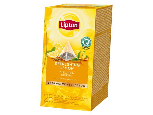 Thee Lipton Exclusive Citroen 25 piramidezakjes