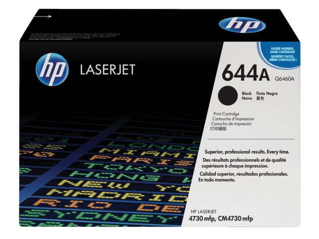 Tonercartridge HP Q6460A 644A zwart