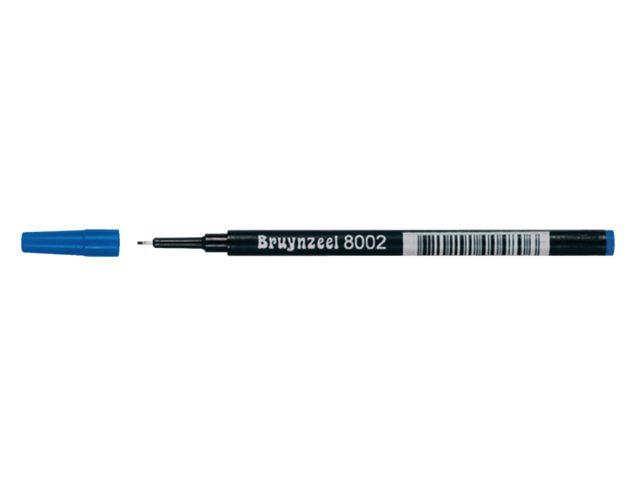 Finelinervulling Bruynzeel spits 8002 blauw 0.4mm