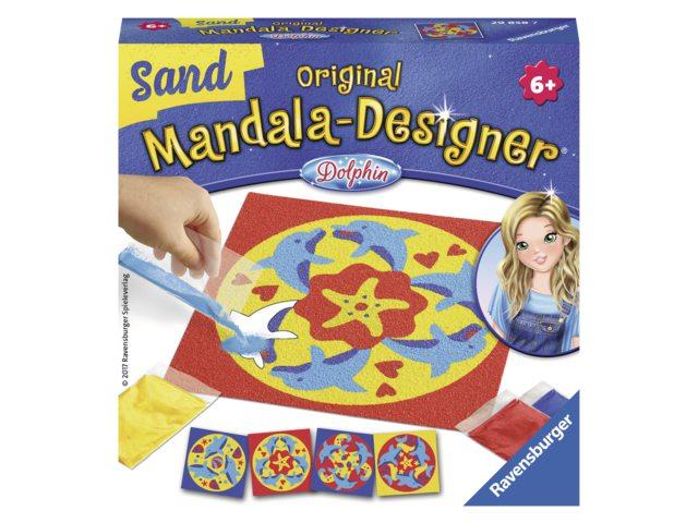 Mandala designer Ravensburger zand dolfijnen