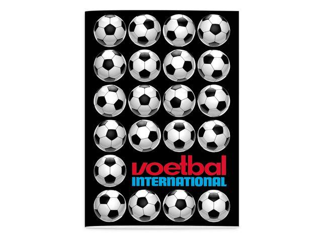 Schrift Voetbal International (A4) lijn