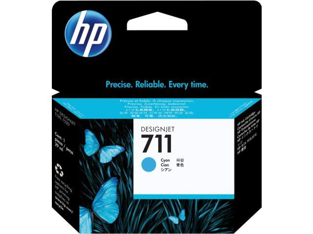 Inkcartridge HP CZ130A 711 blauw