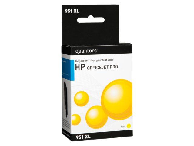 Inkcartridge Quantore HP CN048AE 951XL geel