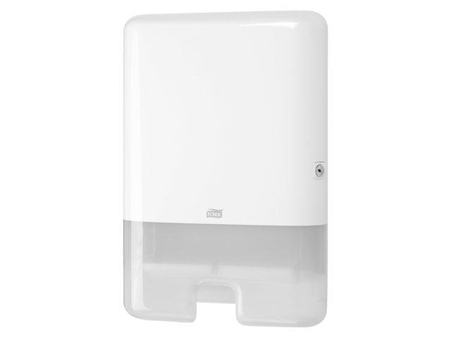 Dispenser Tork H2 Xpress handdoekdispenser 552000 wit