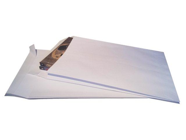 Envelop Quantore monsterzak 262x371x38mm zelfkl wit 125stuks