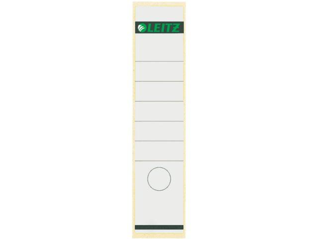 Rugetiket Leitz 1640 61x285mm zelfklevend wit