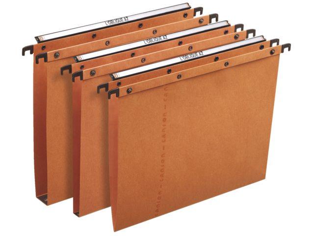 Hangmap Elba AZO folio U-bodem 30mm oranje