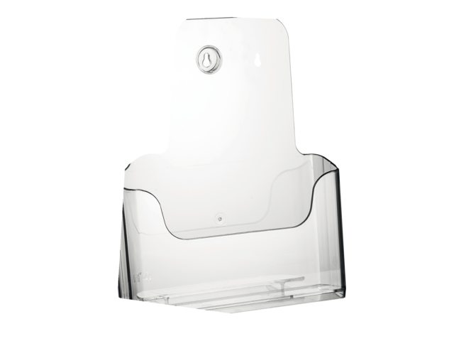 Folderhouder Nedco 37700 1xA4 staand/hangend transparant
