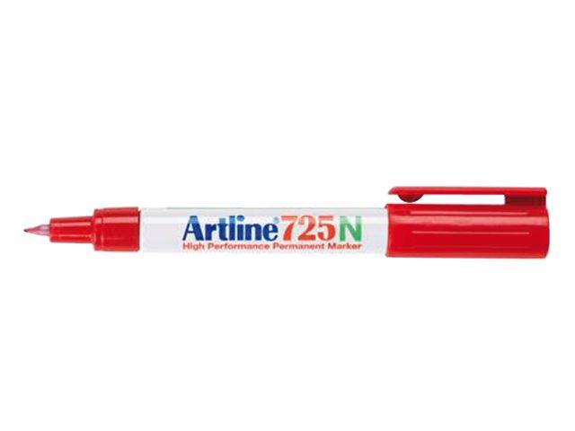 Fineliner Artline 725 rond rood 0.4mm