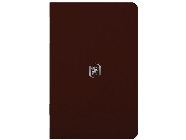 Notitieboek Oxford Pocket 90X140mm bruin lijn