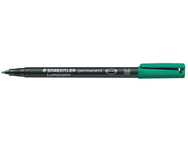 Viltstift Staedtler OHP Lumocolor M317 groen medium