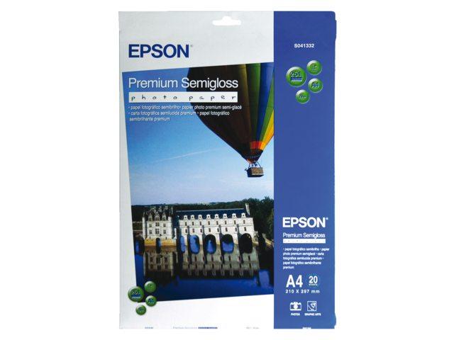 Inkjetpapier Epson SO41332 A4 mat 251gr 20vel