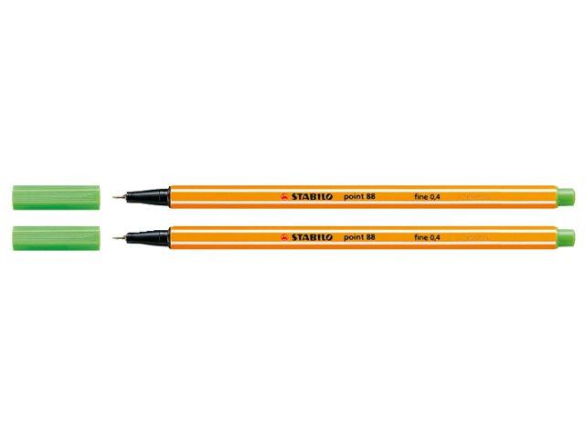 Fineliner Stabilo Point 88/43 lichtgroen