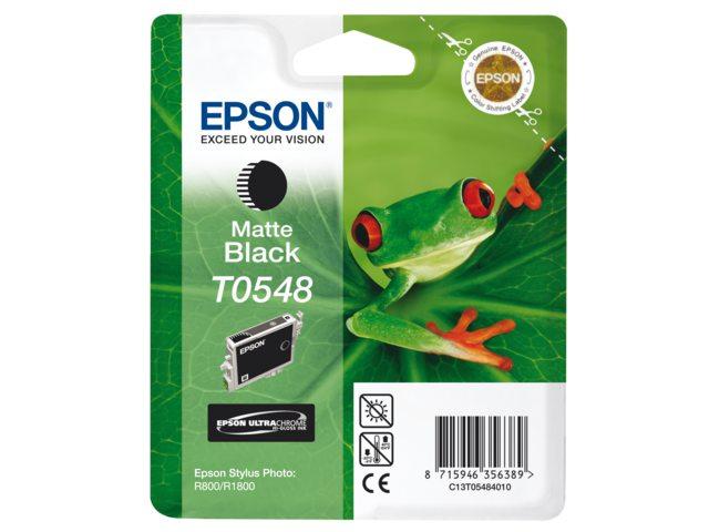 Inkcartridge Epson T054840 mat zwart