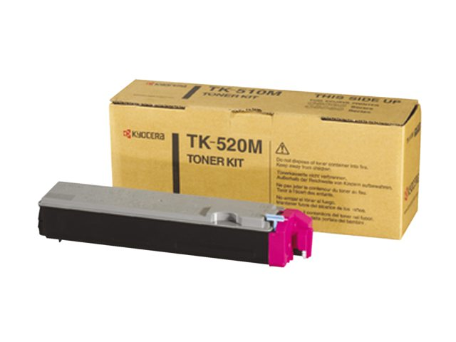 Toner Kyocera TK-520M rood