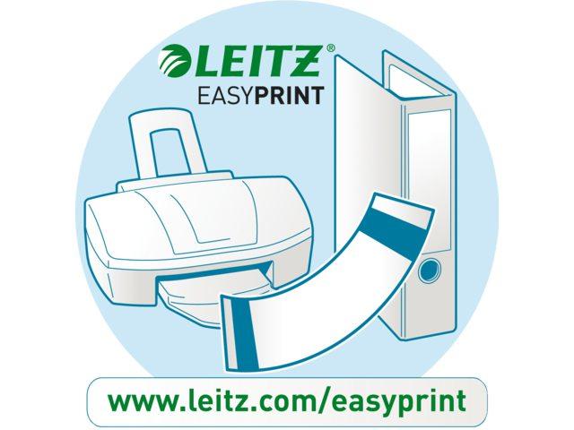 Rugetiket Leitz PC printbaar 1685 61x192mm zelfklevend wit
