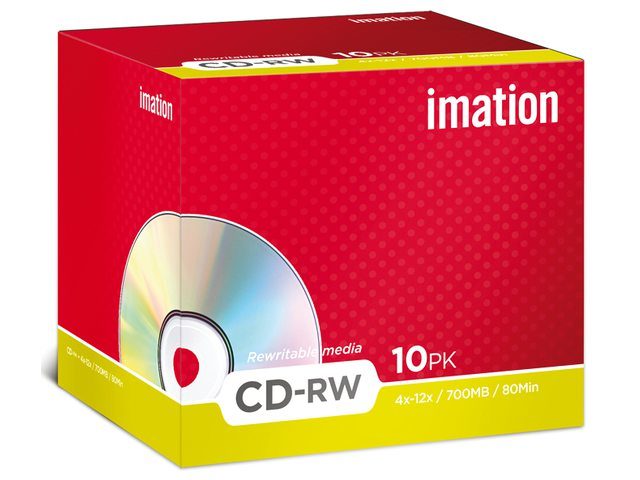 CD-Rw Imation 700MB 80min 4-12 speed