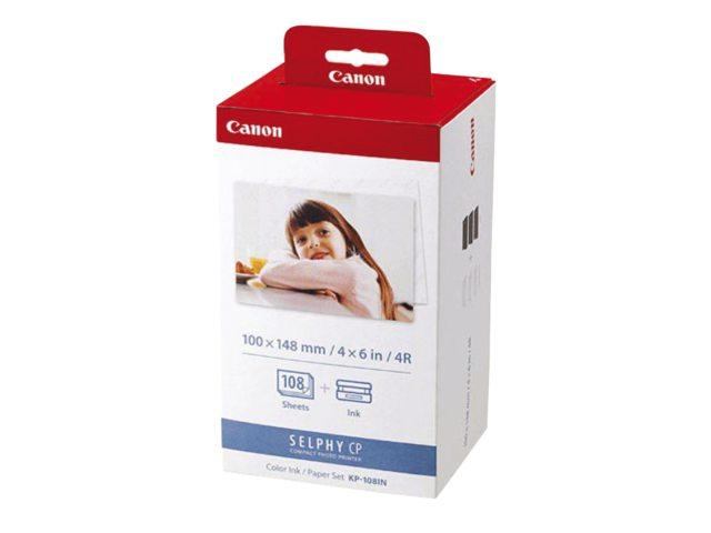 Inkjetpapier Canon KP-108IN 10x15cm 108vel