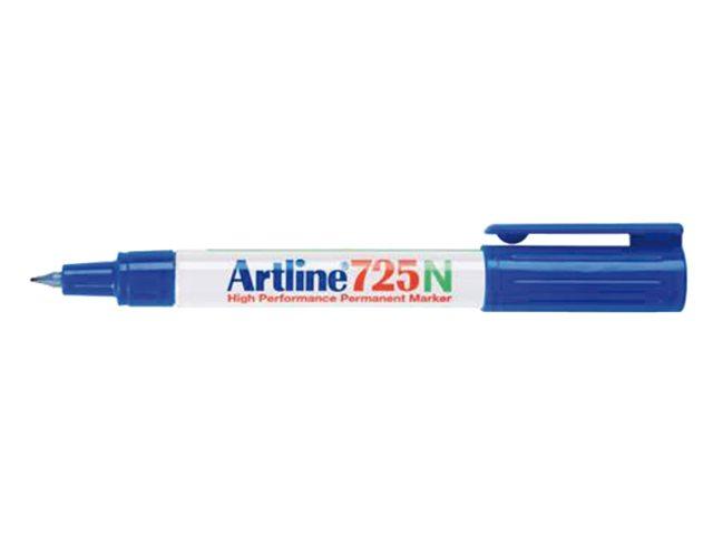 Fineliner Artline 725 rond blauw 0.4mm