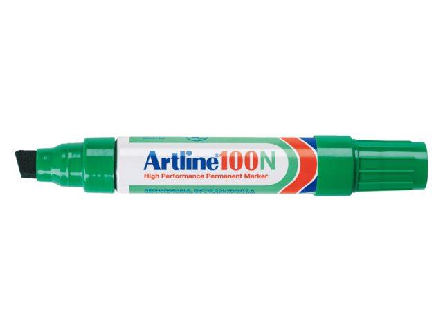 Viltstift Artline 100 schuin groen 7.5-12mm