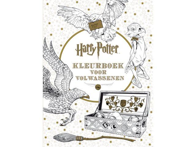 Kleurboek voor volwassenen Harry Potter