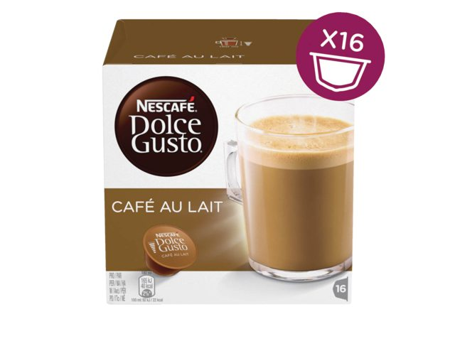 Koffie Dolce Gusto Cafe au Lait 16 cups