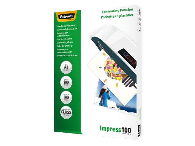 Lamineerhoes Fellowes A3 2x100micron 100stuks