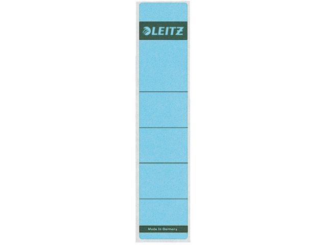Rugetiket Leitz 1643 39x191mm zelfklevend blauw