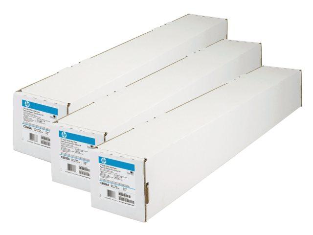 Inkjetpapier HP Q1404B 610mmx45,7m 90gr universal coated