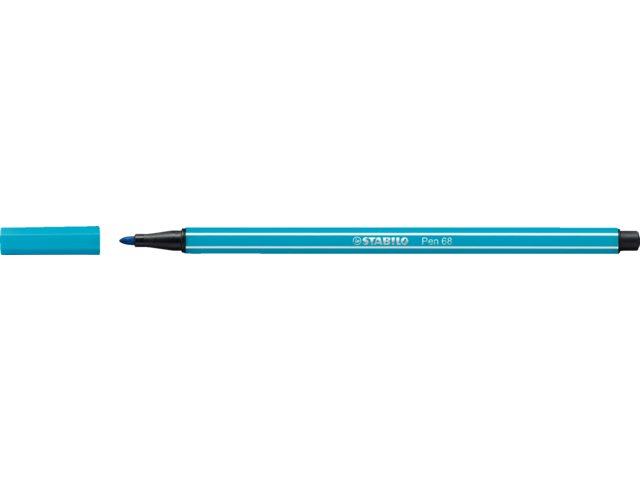 Viltstift Stabilo 68/31 lichtblauw