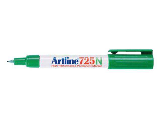 Fineliner Artline 725 rond groen 0.4mm