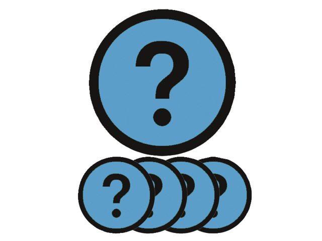 Magneet vraag 5cm lichtblauw