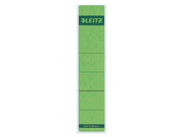 Rugetiket Leitz 1643 39x191mm zelfklevend groen