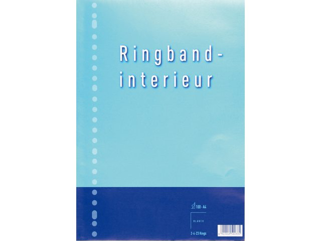 Interieur 23-rings 70gr 50vel blanco